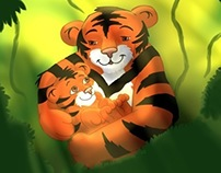 Tiger Cuddles