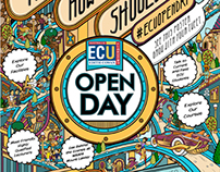 ECU Open Day Poster and Wall-art