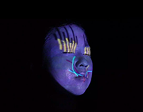 """R3HAB + KSHMR - """"Strong""""   Face Projection Mapping"""