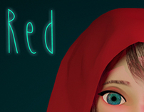 Red Riding Hood 3D Character