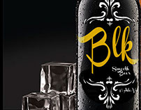 BLK BEER BRANDING DESIGN