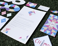 C H I M E branding