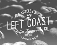 Left Coast Roasters Identity/Branding