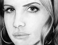 Lana Del Rey Closeup