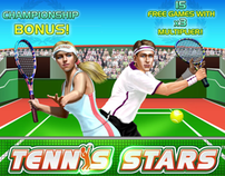 Tennis Stars - Playtech