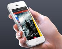 Lev Cinema Theaters - Concept idea for iOS7 app.