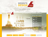 Website for Nordwind Airlines