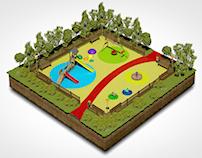 Mobiliario para Parques Infantiles