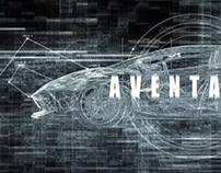 Lamborghini Aventador Motion Graphic Project
