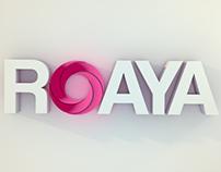 Roaya Logo 3D