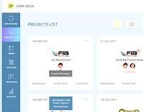 CRM Desk Daily UI DESIGN