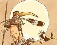 Illustrations for Folk Tales from Pakke Tiger Reserve