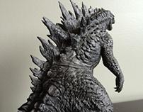 Godzilla 2014 Sculpt