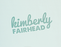 Kimberly Fairhead | Logo/Identity design