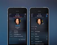 Globle Profile Screens