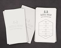 SADDLE WEAR CORPORATE IDENTITY