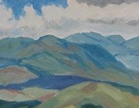 2013-Sophomore Landscape Painting