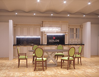 Tonin Casa and Berloni furniture showroom