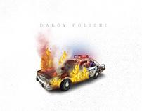 Daloy Polizei - Digital Illustration.