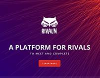 Rivaln   Landing Page