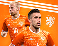 Netherlands Adidas Home kit