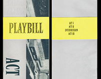 PLAYBILL ACT III