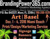 Art | Basel Miami 2016 Design/Print/Marketing Services