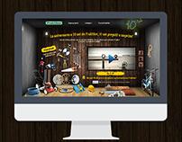 Praktiker online campaign (pitch work)