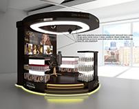 Loreal hair care center design