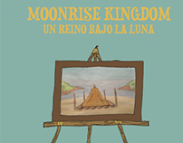 Cartel arlternativo Moonrise Kingdom / Ilustración
