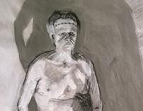 2013-Sophomore Figure Drawings