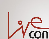 Live Connection - Logo study and web layouts