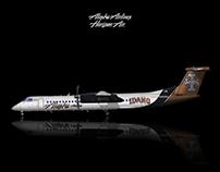 Alaska Airlines Horizon Air Q400 Livery concept