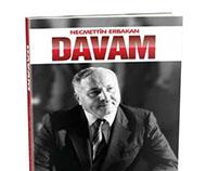 Davam Kitabı - Necmettin Erbakan - Kapak Tasarım