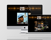 SoundEQ Logo and Website