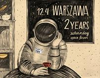 Warszawa 2 Years / poster