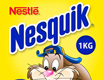 Nesquik Canister