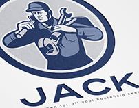 Jack Handyman Logo Template