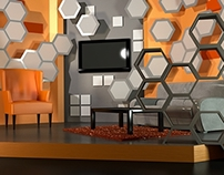 Interiors and Set Visualizations Renders