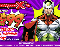 COMICX, Restaurant San Luis Potosi