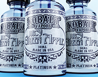 Kobalt Vapors label design