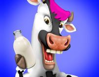 Pop Art Cow