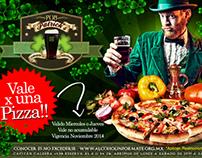 PATRICKS, Vale por una pizza