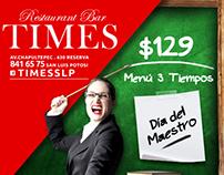 TIMES, Restaurant Bar / Facebook