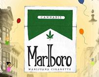 Marlboro Marijuana Cigarettes