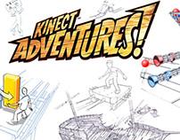 XBox Kinect Adventures Concept Art