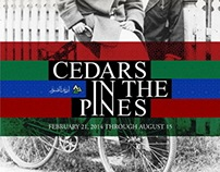Cedars in the Pines, Poster for Exhibition