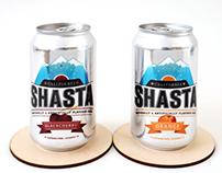 SHASTA - Soda Rebranding