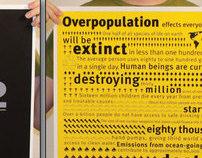 Overpopulate.