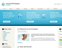 Loan And Mortgage Center Joomla Template